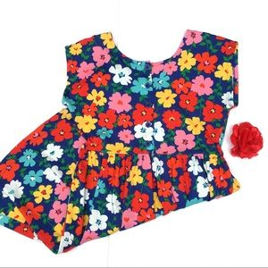 Hanna Andersson poppy print day dress